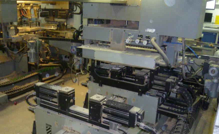 Dübelbohrmaschinenfertigungslinie Biesse Typ Techno Logic