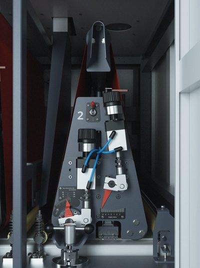 Breitbandschleifmaschine BULDOG 7