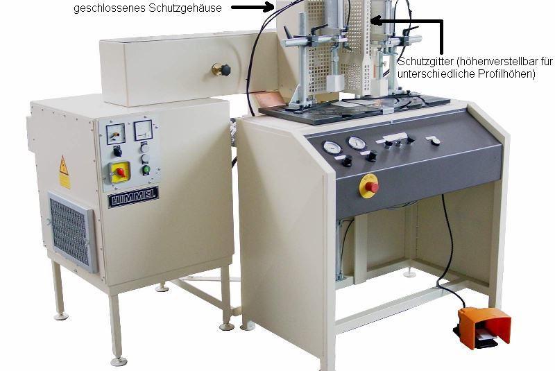 Gehrungszusammensetzmaschine Typ HF120