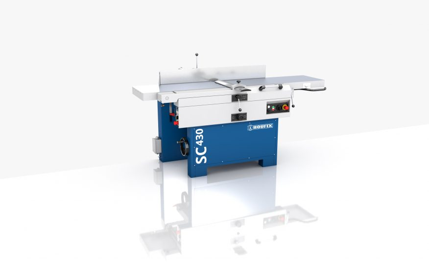 Kombinierte Abricht-/ Dickenhobelmaschine SC 430