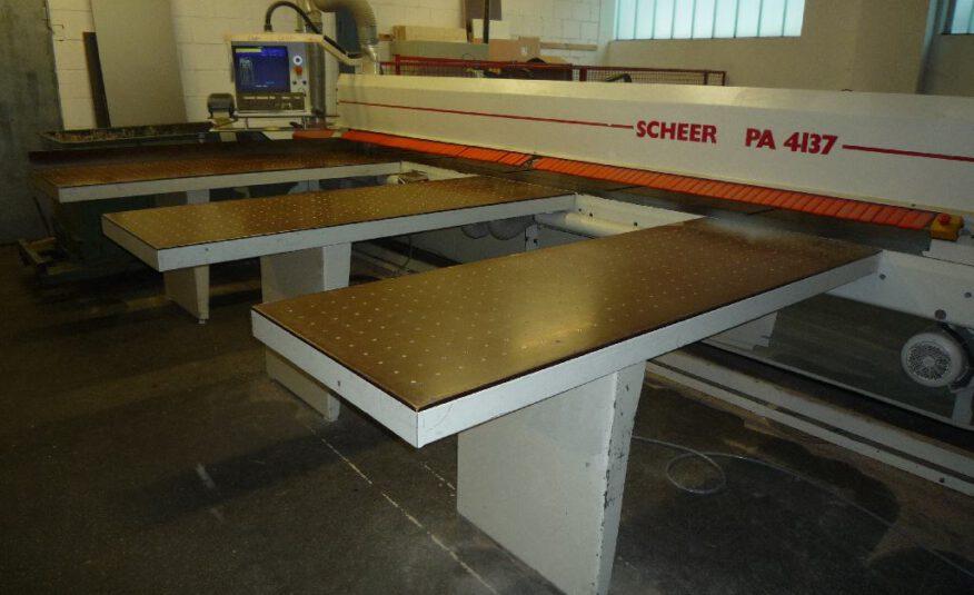 Plattenaufteilsäge Scheer Typ PA 4137