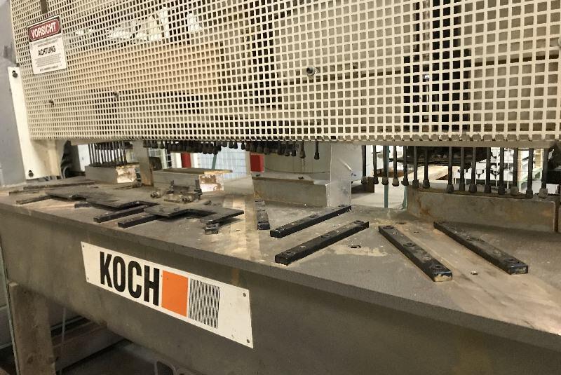 Säge-, Bohr- und Dübeleintreibautomat Koch Typ SPRINT-MULTI