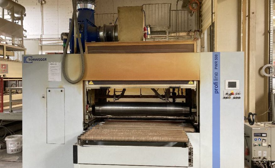 Kleberauftragsmaschine Homag/Torwegge Typ PWR 500/13/D